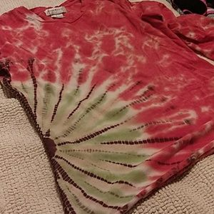 Susan Bristol Tops - Tie dye long sleeve